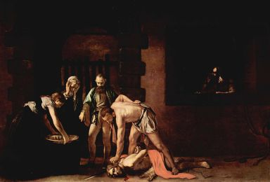 Caravaggio's masterpiece 'The Beheading of St. John' altarpiece in Malta