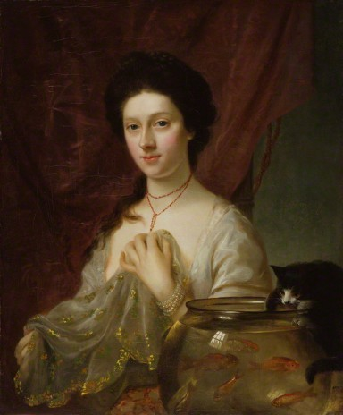 NPG 2354; Kitty Fisher by Nathaniel Hone